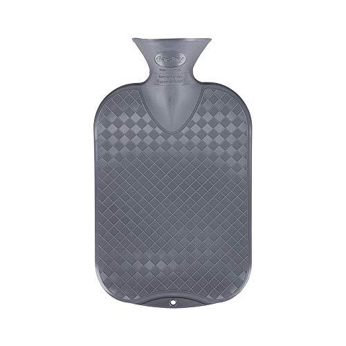 Fashy 2.0 Litre Antrazite Plain Hot Water Bottle