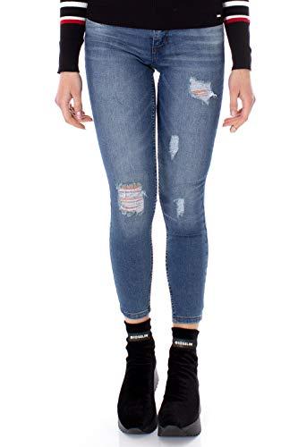 Jeans JACQUELINE DE YONG MAGIC DESTROY LOW Skinny fit con strappi