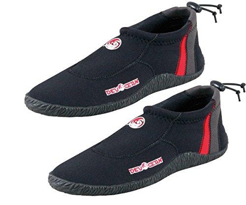 Devocean Neo H2O Shoes Neopren Schuhe Surfschuhe Badeschuhe Wasserschuh Strandschuh Neopren
