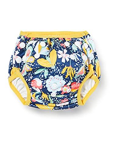 Splash About Unisex Baby Size Adjustable Swim Nappy Garden Delight 0-12 Months Kleinkind-Schwimmwindel, Bugs Life, Monate