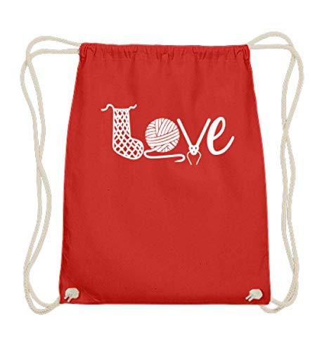 Chorchester Love - Ideal für Strick Fans - Baumwoll Gymsac