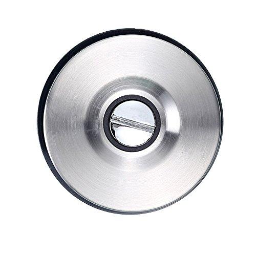 Soporte Magnético para Cuchillos Porta Cuchillos Magnetico Acero Inoxidable con Ventosa sin Taladros Capacidad de Carga 5kg Herramienta Multiusos Organizador para Cocina y Hogar (1 pieza)