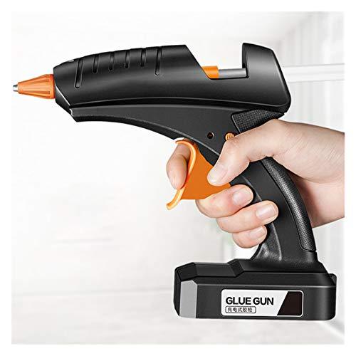 Pistola de pegamento de fusión en caliente sin cable 80W 12V Recargable...