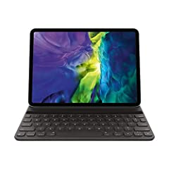 The Smart Keyboard Folio is designed to deliver a great typing experience on a full-size keyboard whenever you need it. No charging or pairing required. Its durable lightweight cover protects both the front and back of your 11-inch iPad Pro. Simply a...