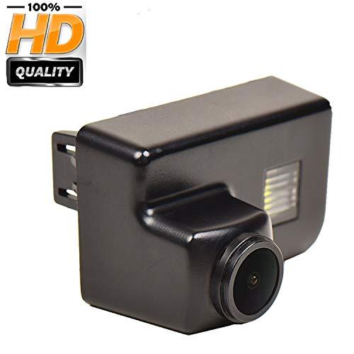 HD Caméra de Recul dans la plaque d'immatriculation Caméra vue arrière de voiture Imperméable Vision Nocturne pour Citroen C4 Grand Picasso Peugeot 206 207 306 308 307 406 407 5008 Partner Tepee