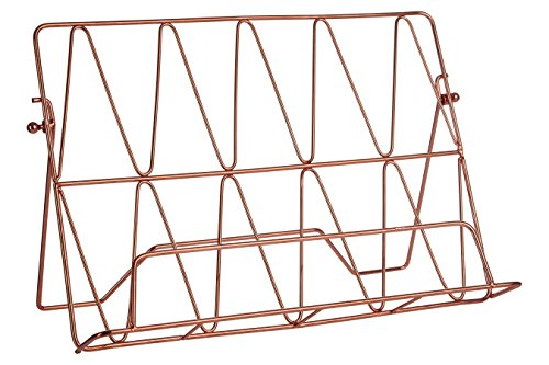 Premier Housewares Vertex – Plaqué cuivre, Métal, cuivré, 17 x 30 x 21 cm