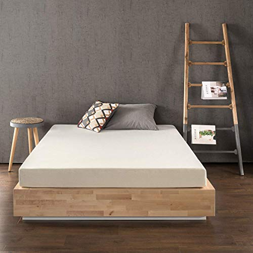 Best Price Mattress 6 Inch Memory Foam Mattress, Calming Green Tea Infusion, Pressure Relieving, Bed-in-a-Box, CertiPUR-US Certified, Twin