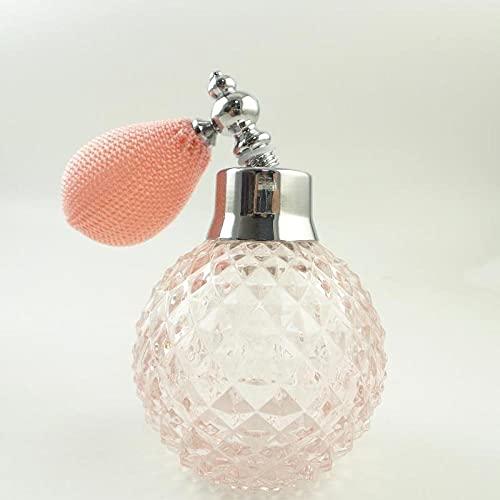 Botella De Perfume Vacía Perfume Recargable Frascos Para Perfume 110Ml De Cristal Vacío Cristal Vintage De Perfume De Reemplazo De La Botella De Spray Del Atomizador De La Serie De Lujo De La