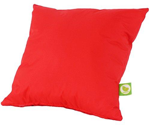 Resistente al agua al aire libre muebles de jardín asiento cojín relleno con Pad por Bean Lazy–rojo