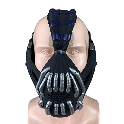 yacn Batman The Dark Knight Rise Bane Mask Réplica Casco Cosplay Juguetes Halloween X-mas Cosplay Batman Mask Adulto