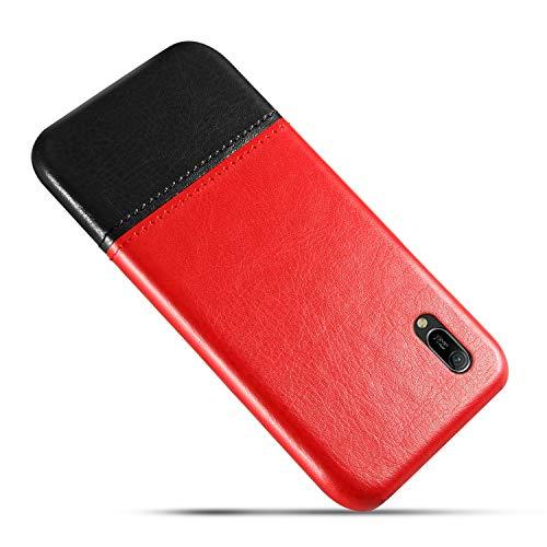 GOBY Custodia in Pelle Bicolore per Huawei Enjoy 9e per Huawei Enjoy 9e (6)