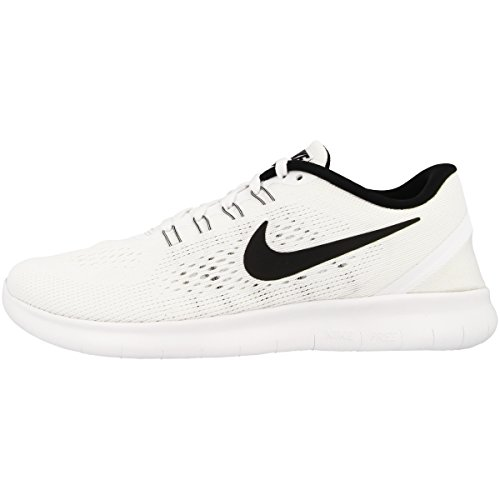 Nike Free Run 831509, Scarpe Da Corsa Donna, Bianco (White/Black), 36.5 EU