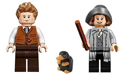 LEGO Fantastic Beasts: Newt Scamander Tina Goldstein and Niffler