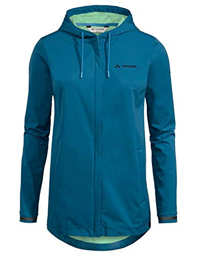 VAUDE Damen Cyclist Softshell Jacke II, Kingfisher, 38