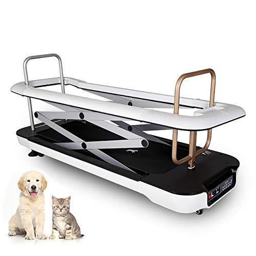 Cinta para correr para perros, ejercicio físico para mascotas en interiores, equipo para ejercicios con control remoto, elevador eléctrico para cercas adecuado para perros pequeños / medianos