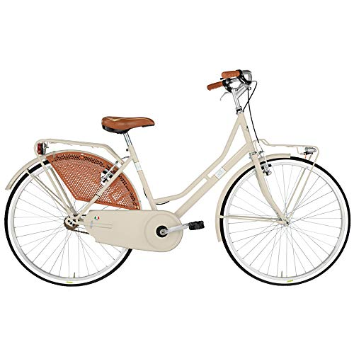 Alpina Bike Olanda 26', Bicicletta Donna, Crema, 1v