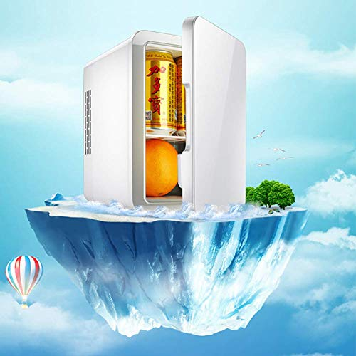 XKCQC 4 L car Mini Refrigerator, Small Household Dormitory, Home Voltage, 12V Vehicle Voltage. Travel, self-Driving Tour, Camping, picnics are Available. The Best Choice for Summer