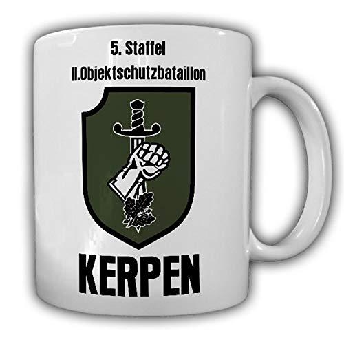 24092 Tasse 5 Staffel 2 Objektschutzbataillon Kerpen Luftwaffe Bundeswehr ObjSRgt LW Abzeichen Kaffee Becher #24092