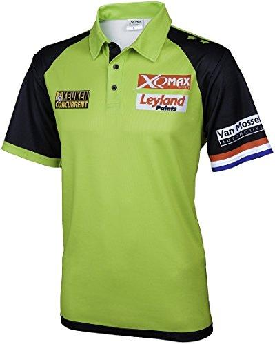 XQMax Darts Michael van Gerwen Replica Shirt Matchshirt 2018 (M)
