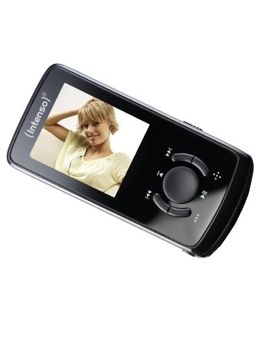 Intenso Video Scooter MP3-/Video-Player 8 GB (4,6 cm (1,8 Zoll) Display, USB 2.0) schwarz