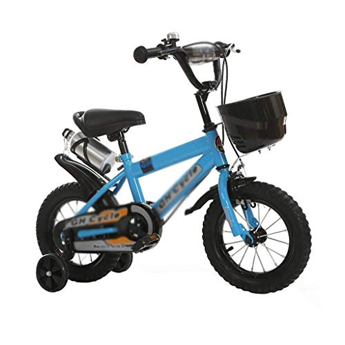 Aohi WXQ-XQ Children's Bicycle Variable Speed Bicycle Mountain Toy Bicycle Detachable Stabilizer Bicycle Color : Blue, Size : 16INCH(115CM45CM62CM) Outdoor Sports Mountain Bike