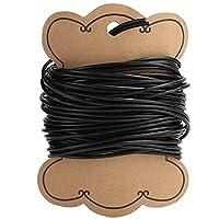 ジュエリーDIYビーズ糸、32.8フィートDIYビーズ糸ビーズコードストリングブレスレットジュエリー作りクラフト(2mm)