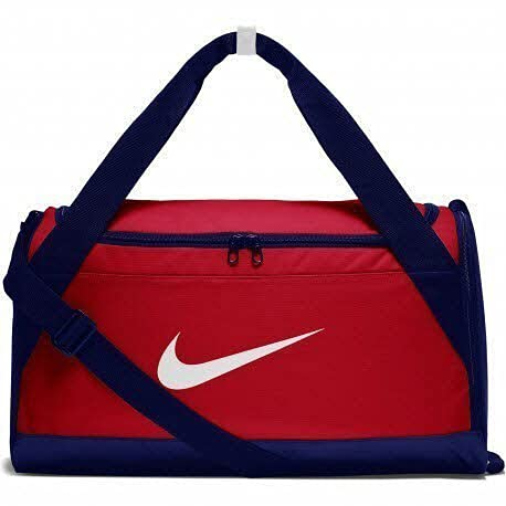Nike Brasilia (Small) Borsa sportiva Duffel Bag University Red/Blue Voi/White, MISC