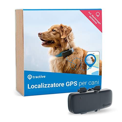Tractive Localizzatore GPS per cani, a Portata illimitata,...