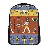 Cuadro de pared con ilustración religiosa egipcia antigua, póster moderno para sala de estar, sala de reuniones, dormitorio, decoración de pared del hogar, 36 x 24 pulgadas, sin marco