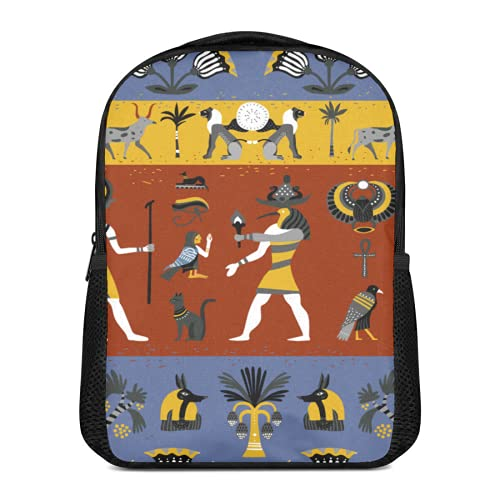 Cuadro de pared con ilustración religiosa egipcia antigua,