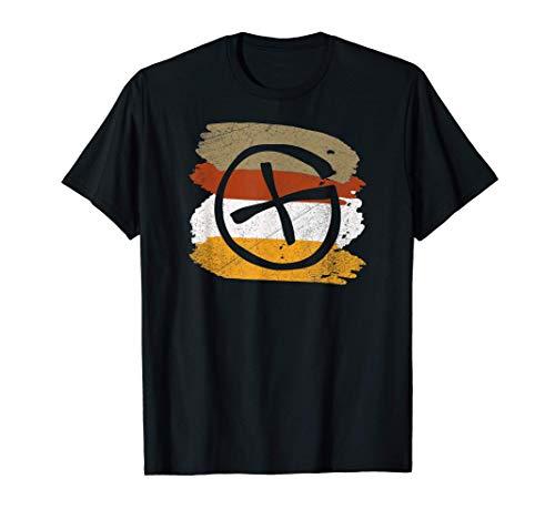 Geocacher al aire libre Coordenadas Geocache Camiseta