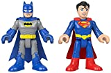 Fisher-Price Imaginext DC Super Friends Batman and Superman XL Figures, Set of 2 Extra-Large Figures for Preschool Kids Ages 3 to 8 Years
