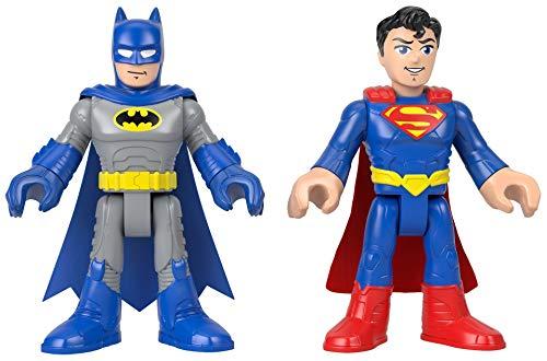 Fisher-Price Imaginext DC Super Friends XL Batman & Superman 2-Pack