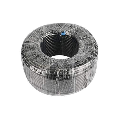 QWSX Manguera de riego 20/40 / 60 mm 1/4 Pulgadas Negro Blanco PIPO PE 6.35mm Diámetro Exterior Jardín Irrigación inverso Sistema de Agua Sistema de Agua Manguera del Acuario Tubo Resistent
