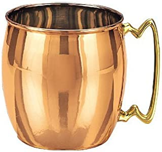 Old Dutch Nickel-Lined Solid Copper Moscow Mule Mug, 16 Oz.