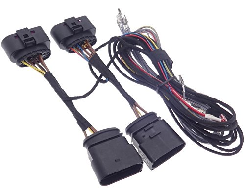 Xenon Bi adapter halogeen koplamp kabelset aansluitkabel compatibel met VAG Polo V 6R