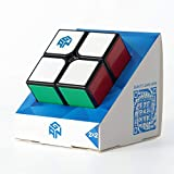 GAN Speed Cube 2x2, Tiled Scratch Proof Gans 2x2x2 Puzzle Pocket Cube for Kids (2020 GSC)
