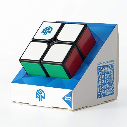 GAN Cube Puzzle 2x2, Gans piastrellato AntiGraffio 2x2x2 Puzzle Pocket Cube per Bambini (2020 GSC)