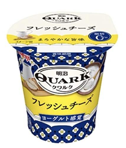 明治 QUARK フレッシュチーズ(100g×12コ)クール便 クワルク