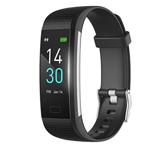 Septoui Fitness Tracker mit Pulsmesser Blutdruck, Smartwatch Wasserdicht IP68, 16 Trainings Modi, Fitness Uhr Schrittzähler Kalorienzähler Pulsuhr Sportuhr Aktivitätstracker für Damen Herren Kinder