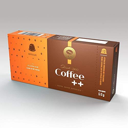 Cápsula de Café Especial Clássico Coffee Mais, Compatível com Nespresso, Contém 10 Unidades