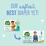 Seventh Generation Baby Diapers, Size 5, 115 count for Sensitive Skin (Packaging May Vary)