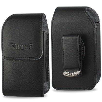 Newyorkcellphone Vertical Leather Case for Kyocera Dura XV, Dura XA with Fixed Belt Clip and Magnetic Closure.
