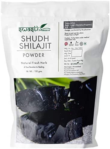 Zenza Swasth Arogya Popular standard Sudh Shilajit Powder Shilaj Max 71% OFF Pack of - 1