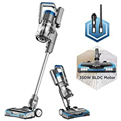 350W Highly Efficient Powerful BLDC Motor: Stylus is designed around increased suction, making cleaning extremely efficient and effective on both hard floors and carpet 45 minutes long lasting runtime: up to 45 minutes of runtime and three cleaning m...