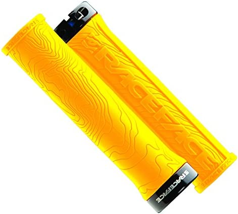 RaceFace Half Nelson Locking Bike Grips Yellow product image