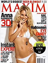 Maxim Magazine, October 2010, Featuring Anna Kournikova
