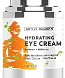 Eye Cream for Anti Aging Dark Circles, Eye Bags, Fine Lines, Puffiness. Best Anti Aging Eye Cream Moisturizer for Wrinkles, Crows feet, Puffy Eyes