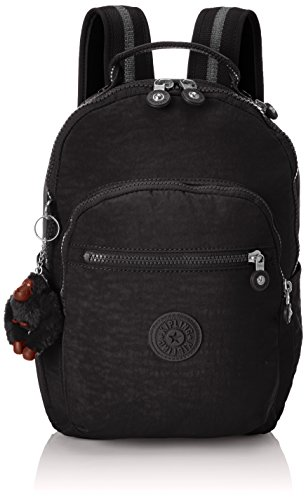 Kipling Seoul Go, Large Backpack, 44 cm, 20 Litres, Black (True Black)