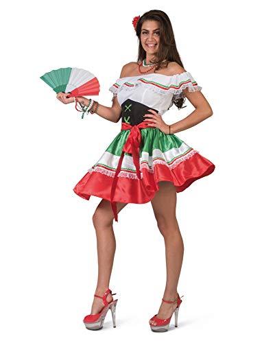 Mexikanerin Damenkostüm Viva Mexico Fasching Mottoparty Karneval Kostüm Damen